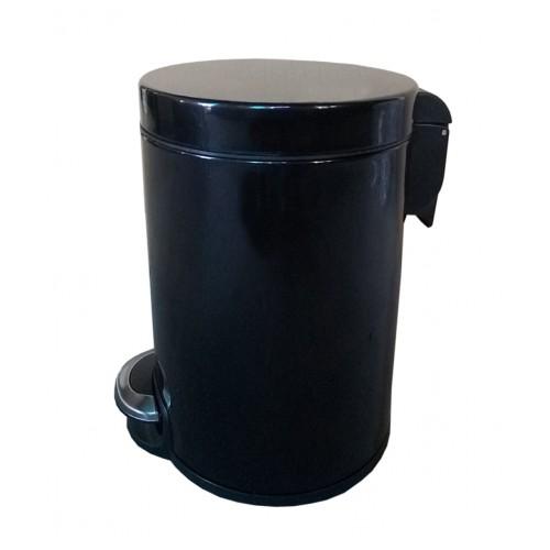 Корзина для мусора с педалью для кухни, металлическая 20 литров