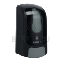 Диспенсер BINELE mBase для жидкого мыла картриджный (черный)