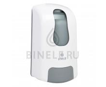 Диспенсер BINELE mBase для жидкого мыла картриджный (белый)
