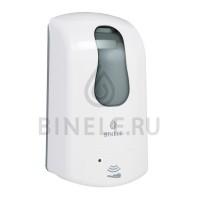Диспенсер BINELE eSoap картриджный для жидкого мыла сенсорный, 1л. (белый)