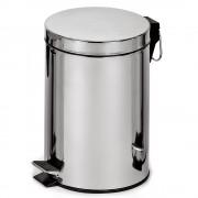 Корзина для мусора с педалью, металл 30 литров