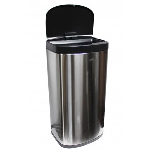 Корзина для мусора сенсорная, 35 литров (матовая)